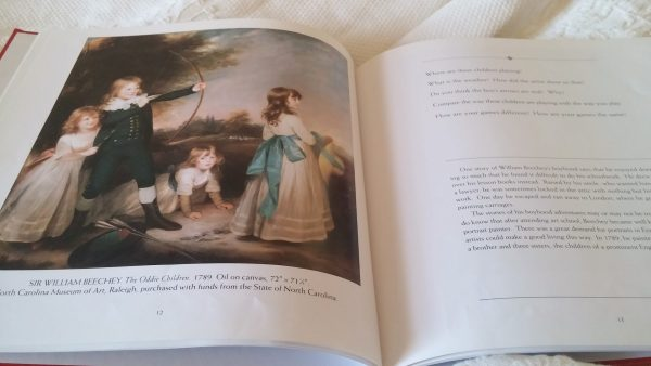 The Oddie Children by Sir William Beechey, come look with me, art through picture books, enjoying art with children, teaching art to young children, teaching art to young children, teaching children about art