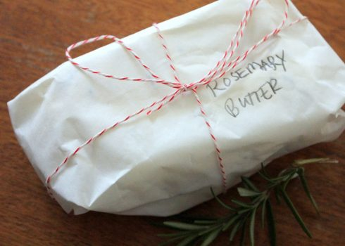 Simple Gifts: Rosemary Butter & Honey Butter